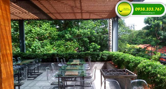 thi cong mang xanh cafe 7214