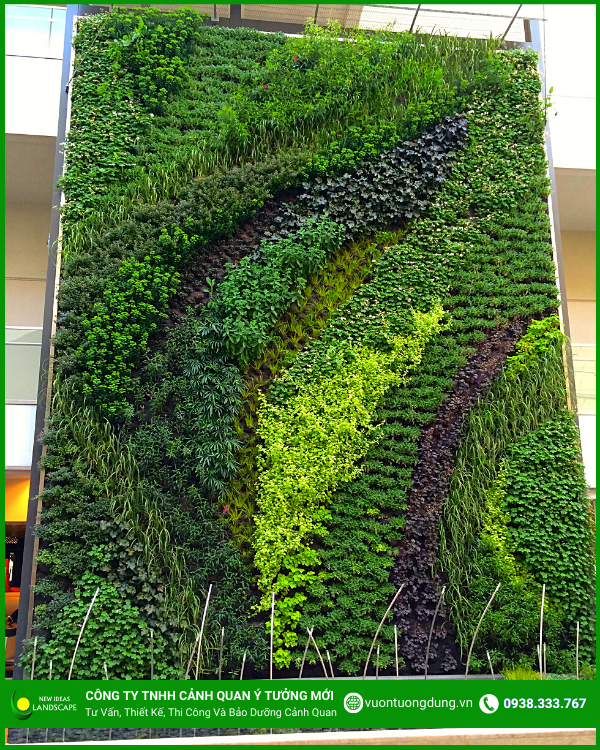Ảnh thiết kế vườn đứng 1